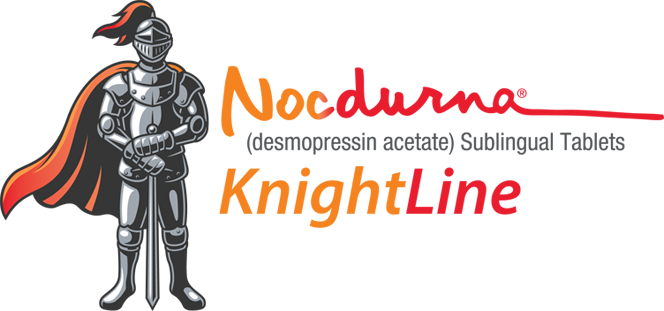 NOCDURNA knightline is here to help. If you don't have insurance or your insurance doesn't cover NOCDURNA, you may still be eligible for savings on your prescription
